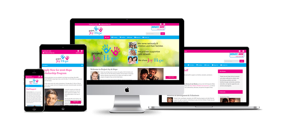 Web design - website creation for nonprofits