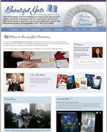 Website for Christian Ministry