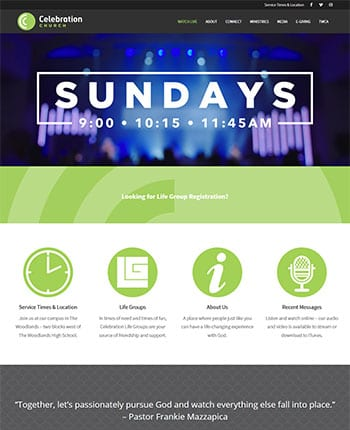 websites for churches