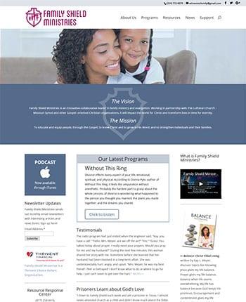 Christian ministry website