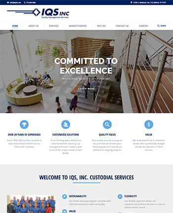 website for facility management company
