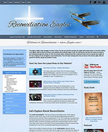 Website for a Christian Ministry
