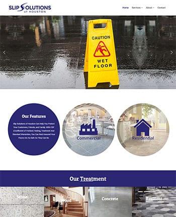 Floor Treatment Company Website