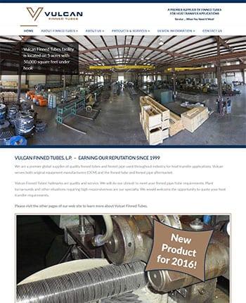 commercial industrial website design