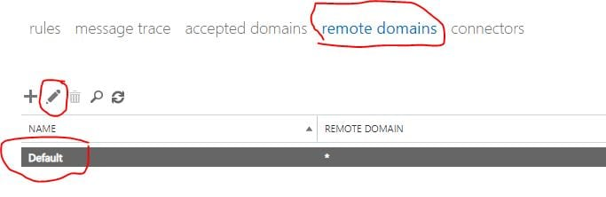 click on remote domains